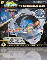 BeyBlade Burst B-62 Dual Cyclone Stadium DX set Takara Tomy Original Tracking