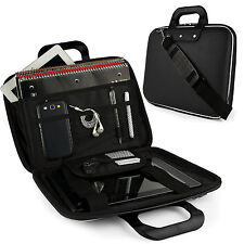 "SumacLife Leather Laptop Briefcase Shoulder Bag For 12.3""Microsoft Surface Pro 7"