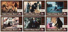 L'ENIGMA DI KASPAR HAUSER FOTOBUSTE 6 PZ. WERNER HERZOG BRUNO S. 1974 LOBBY CARD