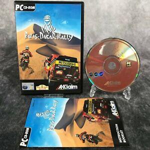 Paris-Dakar Rally PC Game Complete CD-Rom Rare Motorbikes ATVs Cars Racer
