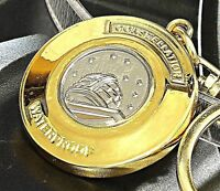 Rare Omega Constellation Men's Watch Resemble Custom Made Metal Keychain Keyring