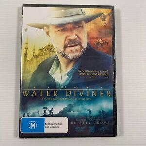 The Water Diviner SEALED (DVD 2015) Russell Crowe Olga Kurylenko Region 2,4