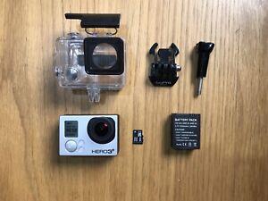 GoPro HERO3+ Black Edition, Extra Battery,              32GB Micro SD