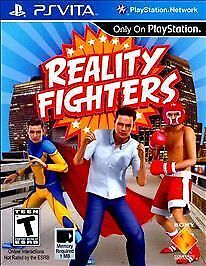 Reality Fighters (Sony PlayStation Vita, 2012)*New,Sealed*