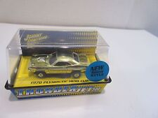 Jl Johnny Lightning T-Jet Slot Car Ho Scale 70 Plymouth Hemi Cu 00006000 Da Gold Chrome