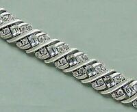 Vintage CORO PEGASUS Clear Crystal Rhinestone Wide Band Bracelet