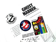 THE REAL GHOSTBUSTERS REPRODUCED STICKERS for 1ST RELEASED I.D CARD /'DIE CUT/'