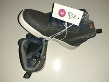 Art Class Boys Kellen BB High Top Lace Up Gray Sneakers Casual Shoes Size 3