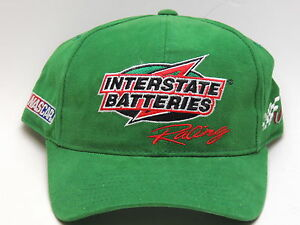 NASCAR Joe Gibbs Racing INTERSTATE BATTERIES Racing #18 Size 7 1/4 Cap - NWOT