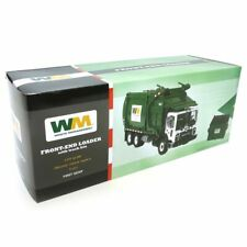 1/34th Mack Front End Loader Waste Management Garbage Truck w/ Dumpster 10-4001