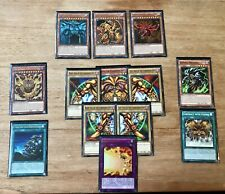 Yugioh Cards Collection Bundle Exodia And God Cards