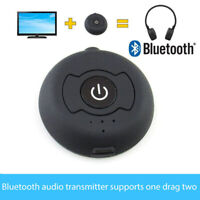 Bluetooth Transmitter Wireless Multi-point Audio Music Stereo Dongle Adapter