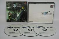 FINAL FANTASY VII 7 FF7 Item Ref/ccc Playstation PS Import Japan Game p1