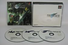 FINAL FANTASY VII 7 FF7 Item Ref/ccc Playstation PS Import Japan Game p1