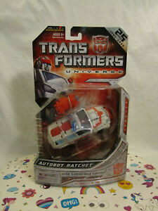 2008 Hasbro Autobot Ratchet Universe Series Transformers 25 Years