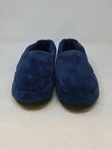 Isotoner Men's Blue Slippers 11-12 US