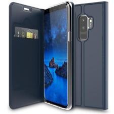 Handy Hülle Samsung Galaxy S9 Plus Book Case Schutzhülle Tasche Slim Flip Cover