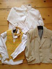 Children's Wedding Outfit Waistcoat And Smart Linen Jacket