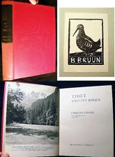 1972 Tibet And Its Birds Maps Color Illustrations Charles Vaurie Ornithology
