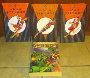 ADAM STRANGE ARCHIVES 1, 2, 3 Books Book Complete Set + DC SHOWCASE vol. 1 LOT