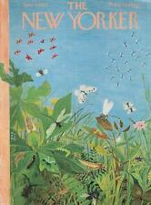 1962 Ilonka Karasz ART COVER ONLY Insects butterflies dragonflies grasshoppers +
