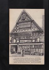 Vtg 1900s TUCK'S Phototype Advertising POSTCARD UK - YE OLD TUDOR HOUSE, TAUNTON