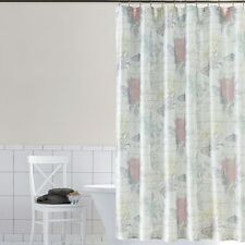 NWT FLORAL FABRIC SHOWER CURTAIN EMILIANA BUTTERFLY 70x72 HOME CLASSICS