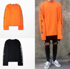 Men/Women Hoodie Vetements Sweatshirts Long Sleeve Oversized off white T Shirt