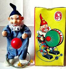"""AUTOMATE ARTHUR SCHÖNAU SONNI """"ASS"""" -CLOWN BALLE ROUGE+BOÎTE-DDR MADE IN GERMANY"""