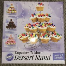 Cupcakes n more Wilton Dessert Cupcake Muffin Stand Holds 23 Cupcakes.