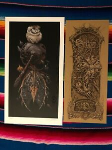 Aaron Horkey Vacvvm The Snare Signed Limited Edition Giclee Art Print Poster