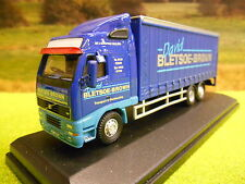 OXFORD VOLVO FH12 CURTAINSIDER DAVID BLETSOE BROWN 1/76 BOXED & NEW 76VOL01CL