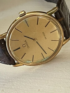 vintage omega deville mens watch Swiss Made Hand Wind Runs Keeps Accurate Time