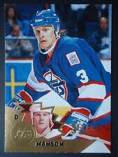 NHL 13 Dave Manson a Winnipeg Jets Select 1994/95