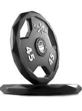 XMark Black Diamond 45 lb Olympic Plate Set Pair - High Quality - New
