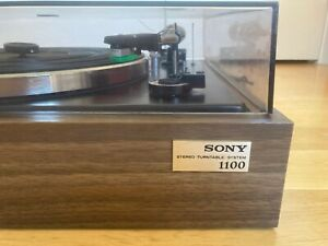 Working Sony Stereo Turntable System PS-1100