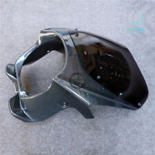 Carbon Front Upper Cowl Nose Fairing With Windshield For Honda CB400 vtec1 2 3 4