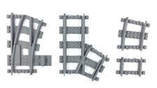 Lego train track Modular Switch - RIGHT -Lego City train compatible, 3d printed!