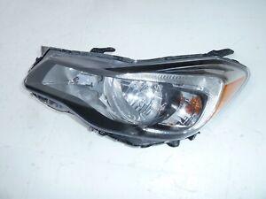 12-2016 Subaru Impreza Crosstrek XV Drivers Side Headlight Left OEM LT Headlamp