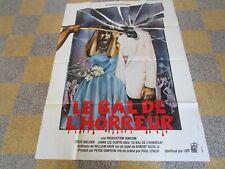 Le bal de l'horreur (Prom Night), affiche cinéma originale 1980, 120x160 N336