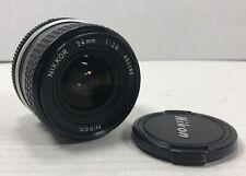 Nikon Nikkor AI-S 24mm f2.8 Lens 24/2.8 AIS