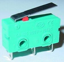 Miniatur Mikroschalter mit Feder, Tastschalter, EIN/EIN, gefedert, S20S