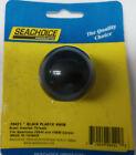 Seachoice 28421 Black Round Knob With Brass 516 -24 Threads Fits 2840 2839