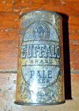 Tough Buffalo Bran Pale Beer Irtp 12 oz Flat Top Beer Can off grade