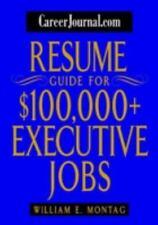 CareerJournal.com Resume Guide for $100