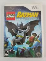 LEGO Batman: The Videogame (Nintendo Wii, 2008) *NO MANUAL* Tested Works