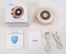 LunaBox SoundBot Portable Wireless Bluetooth Speaker Touch Control - Champagne