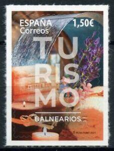 Spain Tourism Stamps 2021 MNH Spas Cultures & Traditions 1v S/A Set