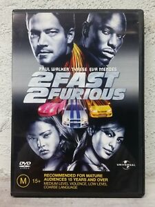 2 Fast 2 Furious DVD Two Second Movie - SAME / NEXT DAY - FAST POST