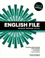 Oxford ENGLISH FILE Advanced THIRD EDITION Workbook with Answer Key @NEW@